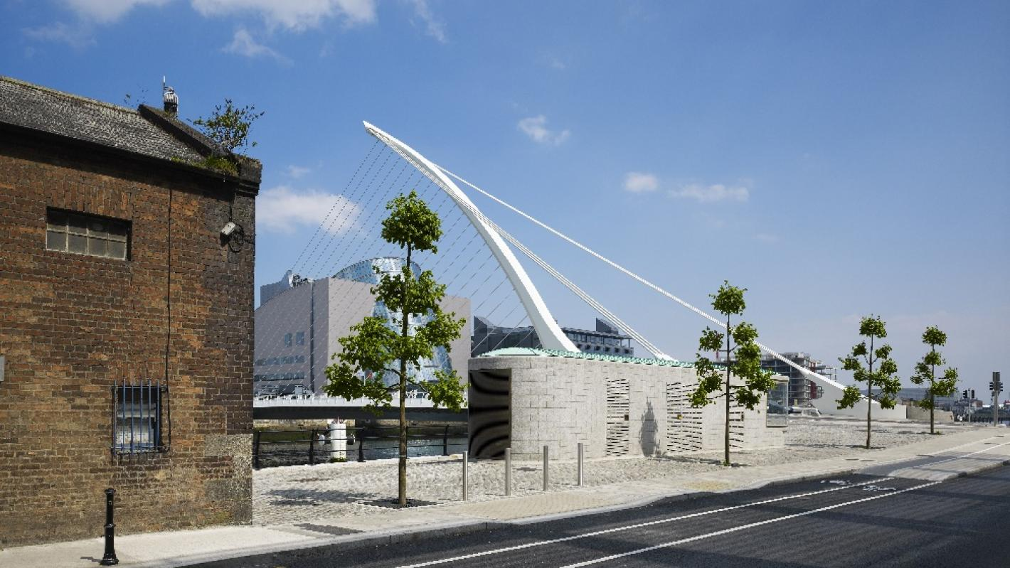 Samuel Beckett Bridge Approach Routes