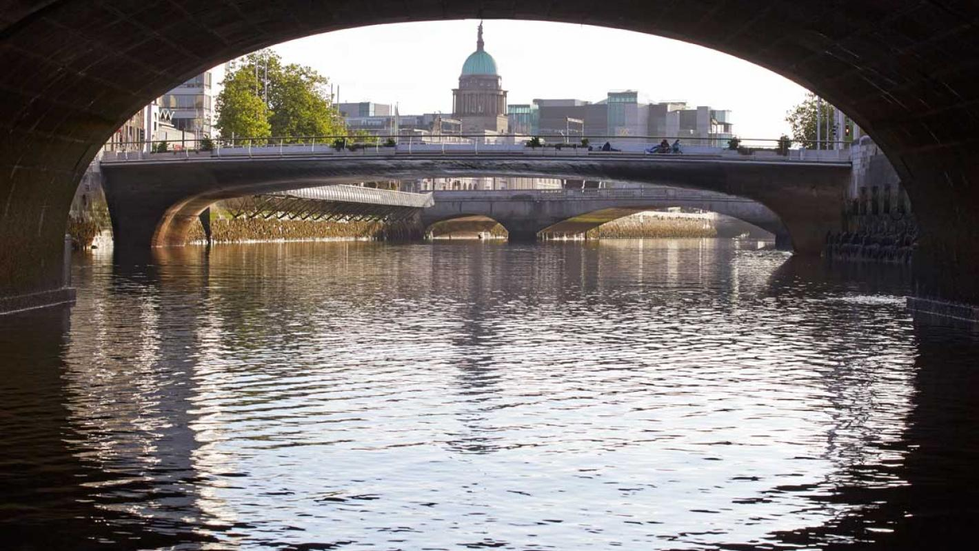Rosie Hackett Bridge Dublin