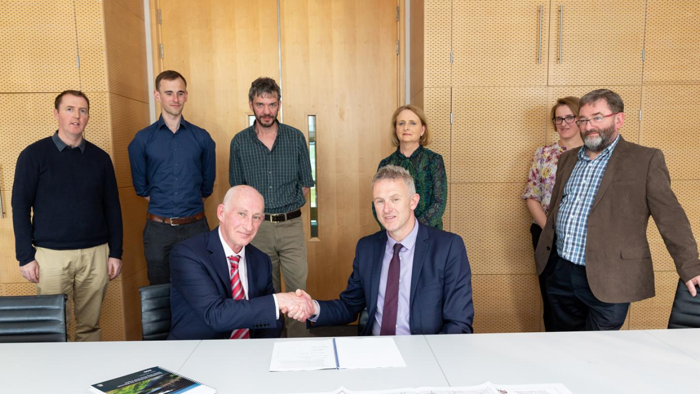 Maynooth Eastern Ring Road - Contract Signing