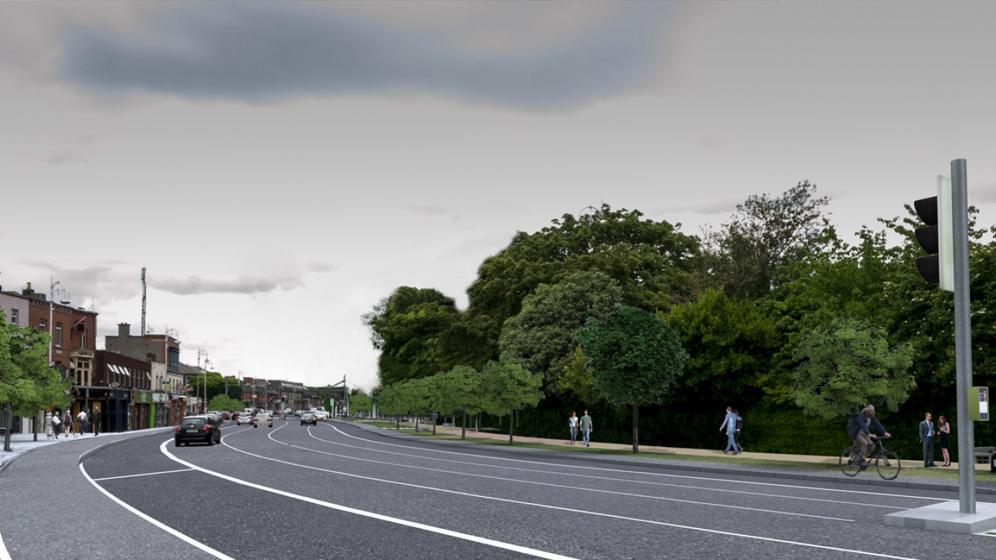 Clontarf to City Centre cycle route banner image