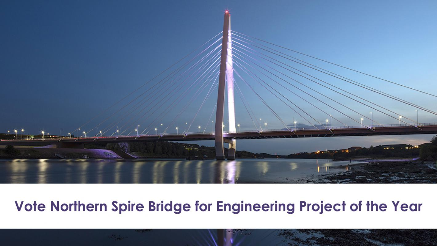 Northern Spire Bridge Vote Now Image