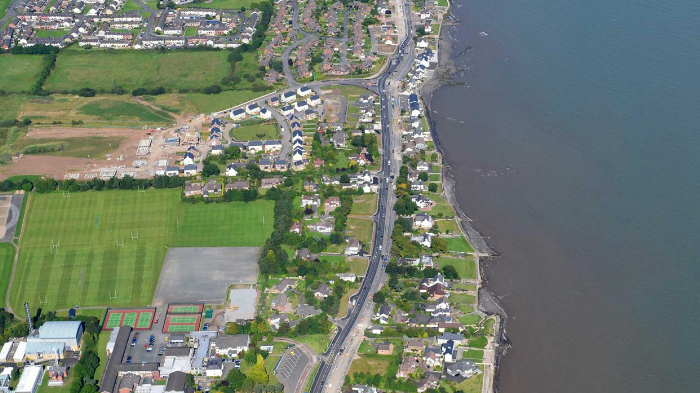 A2 Shore Road to Greenisland Upgrade Hero Image