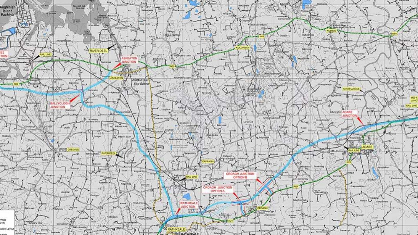 Foynes to Limerick road improvement