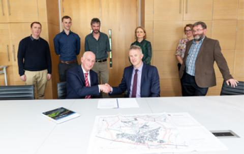 Maynooth Eastern Ring Road signing of contracts