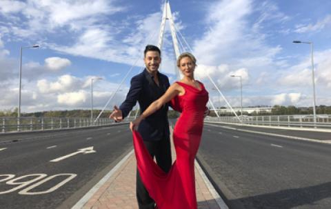 Strictly dancers on Northern Spire