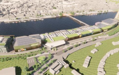 Proposed development on Waterford's North Quays
